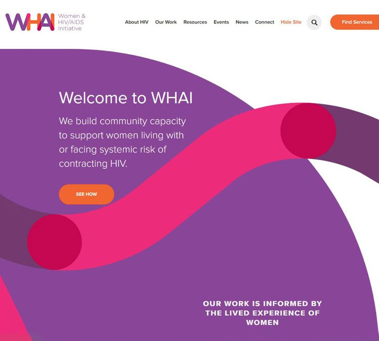 Check out the new WHAI Website